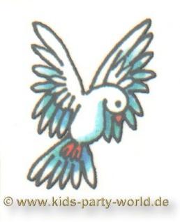 Mini Tattoo weiße Taube