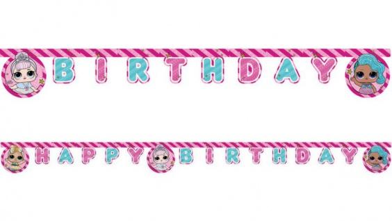 Geburtstags Girlande L.O.L. Surprise!