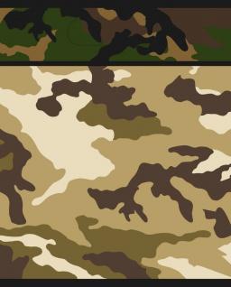 8 Party Tüten Camouflage