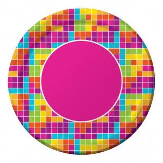 8 Papp Teller Pixel Party