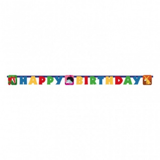 Geburtstags Girlande Waldtiere