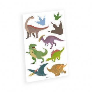 1 Bogen Dinosaurier Classics Kinder Tattoos