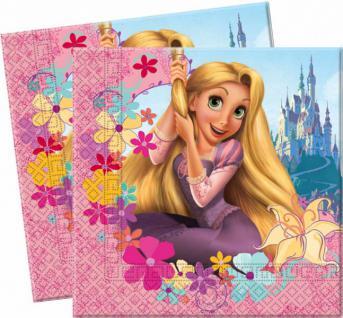 20 Disney Rapunzel Servietten
