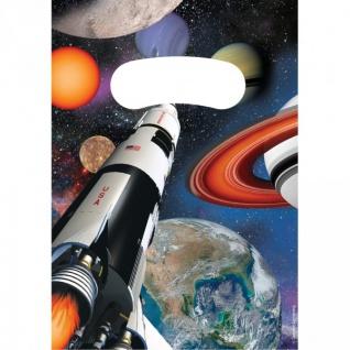 8 Party Tüten Weltraum Mission