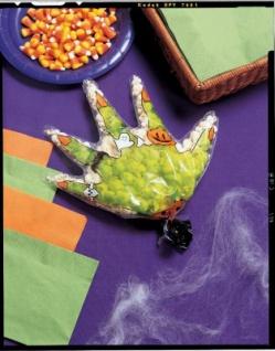 12 Partytüten Hexen Hand