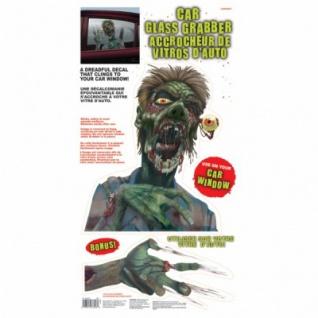 Autofenster Bild Halloween Zombie