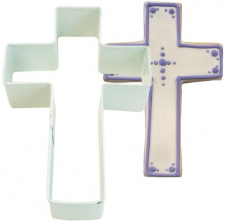 Keks Ausstecher Kreuz Taufe