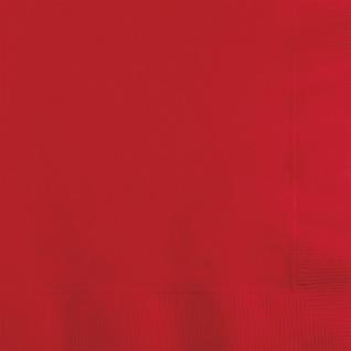 36 Teile Party Deko Set Klassisch Rot für 8 Personen - Vorschau 4