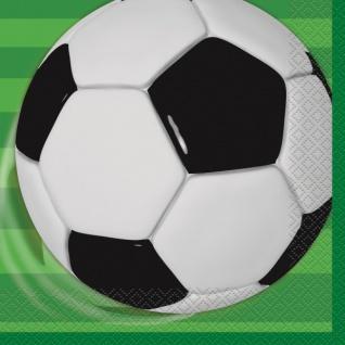 16 Fußball Servietten