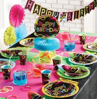 Folien Ballon Knicklicht Neon Raver Party - Vorschau 2