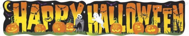 Halloween Pappschild