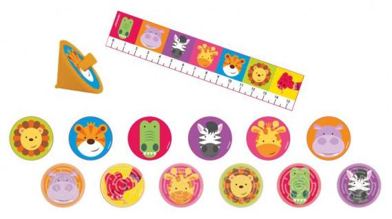 24 Teile Spielzeug Set bunte Kinder Safari