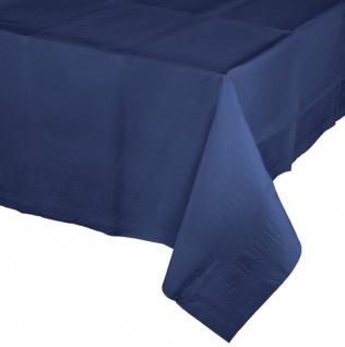 Papier Tischdecke Marine Blau