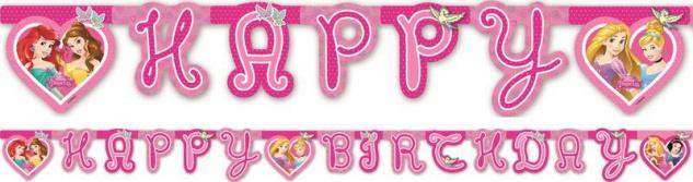 Disney Princess Dreaming Geburtstags Girlande