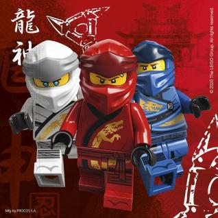 20 Lego Servietten Ninjago ECO Linie