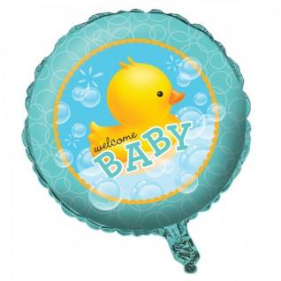 Folien Ballon Baby Shower Entchen