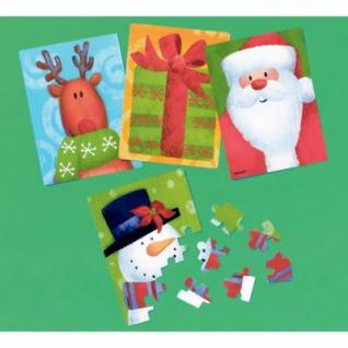 4 Weihnachts Puzzle