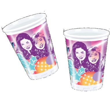 10 iCarly Party Becher