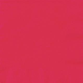 50 rote Servietten