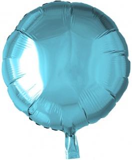 Folienballon Rund Hellblau