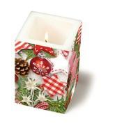 weihnachtliche Kerze Weihnachts Allerlei
