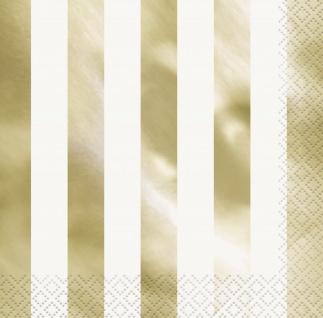 48 Teile Party Deko Set Gold Glanz für 16 Personen - Vorschau 4