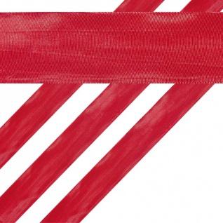 Geschenkband in Rot 4 cm breit 2 Meter lang