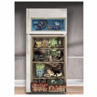 Halloween Kühlschrank Deko