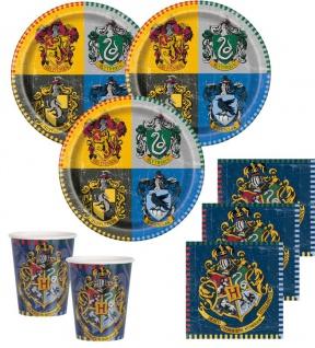 48 Teile Harry Potter Party Deko Set 16 Personen