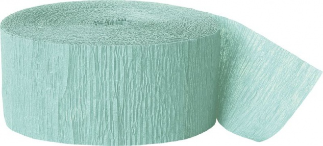 Kreppband in Pastell Mint