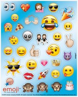 4 Sticker Bogen Emoji