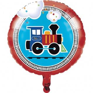 Eisenbahn Party Folienballon