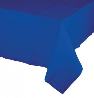 Papier Tischdecke Cobalt Blau