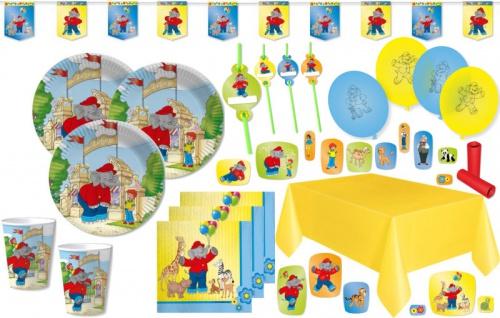 XL 56 Teile Benjamin Blümchen Party Deko Set für 8 Kinder