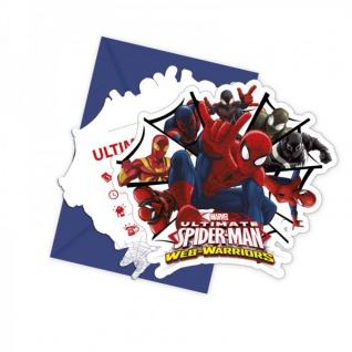 Spiderman Web Warriors Party Deko Auswahl Set - Vorschau 2