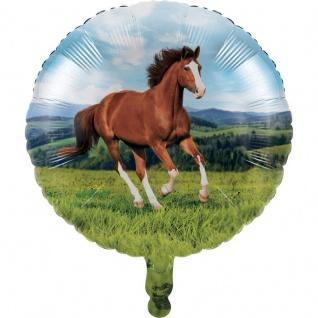 Wilde Pferde Folien Ballon