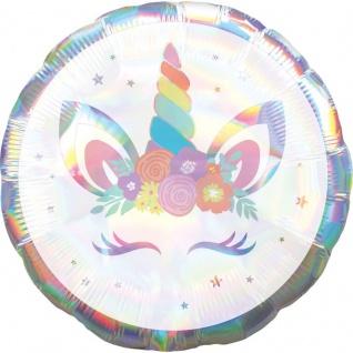 Folien Ballon Baby Einhorn
