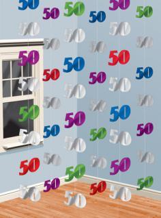 50. Geburtstag Tür und Wand Dekoration