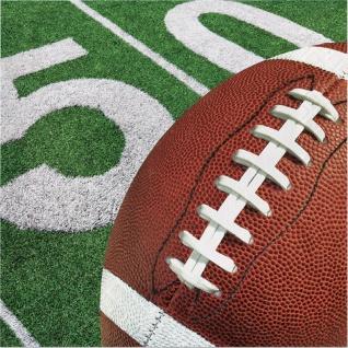 16 Servietten American Football Superbowl Party