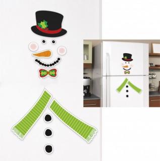 Großer Schneemann Kühlschrank Magnet