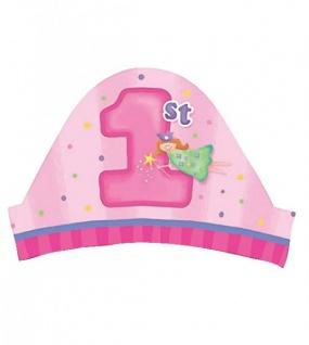Erster Geburtstag 8 Party Hütchen