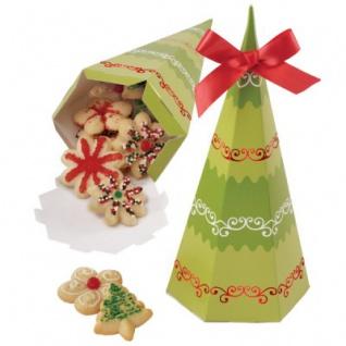 4 Weihnachts Gebäckboxen