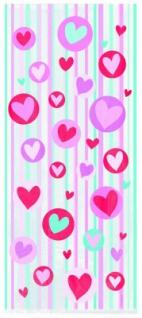 20 Zellophantüten Herzen