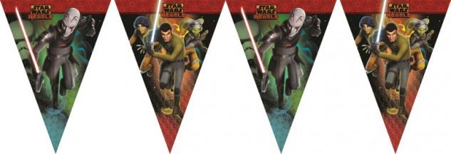 Star Wars Rebels Wimpel Kette