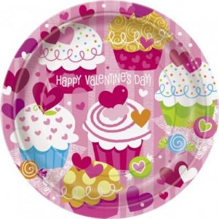8 Valentins Teller