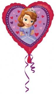 Herz Folien Ballon Sofia die Erste