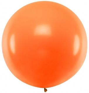 XXL Mega Luftballon in Orange 1, 8 Meter Durchmesser
