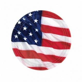 8 kleine Teller USA