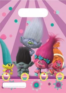 6 Party Tüten Trolls