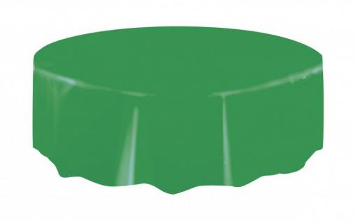 Runde Plastik Tischdecke Gras Grün
